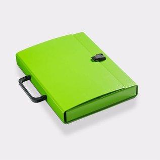 Klapr Briefcase A4 30 mm Green