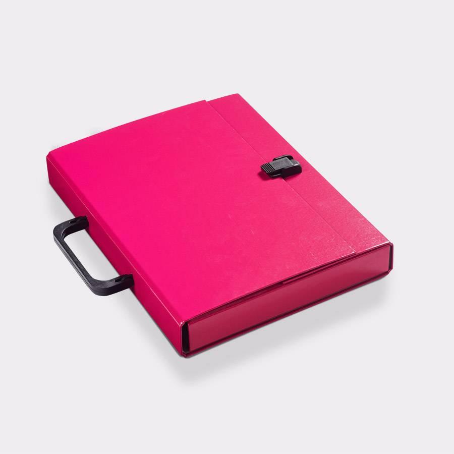 Koffer A4 Magenta