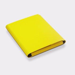Klapr Presentatiemap A4 25mm ronde rug geel