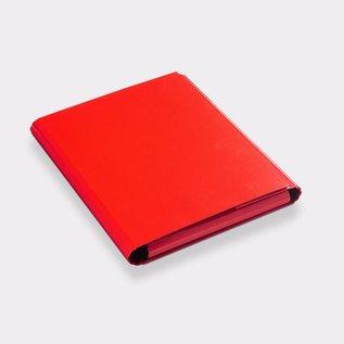 Klapr Presentatiemap A4 25mm ronde rug in rood