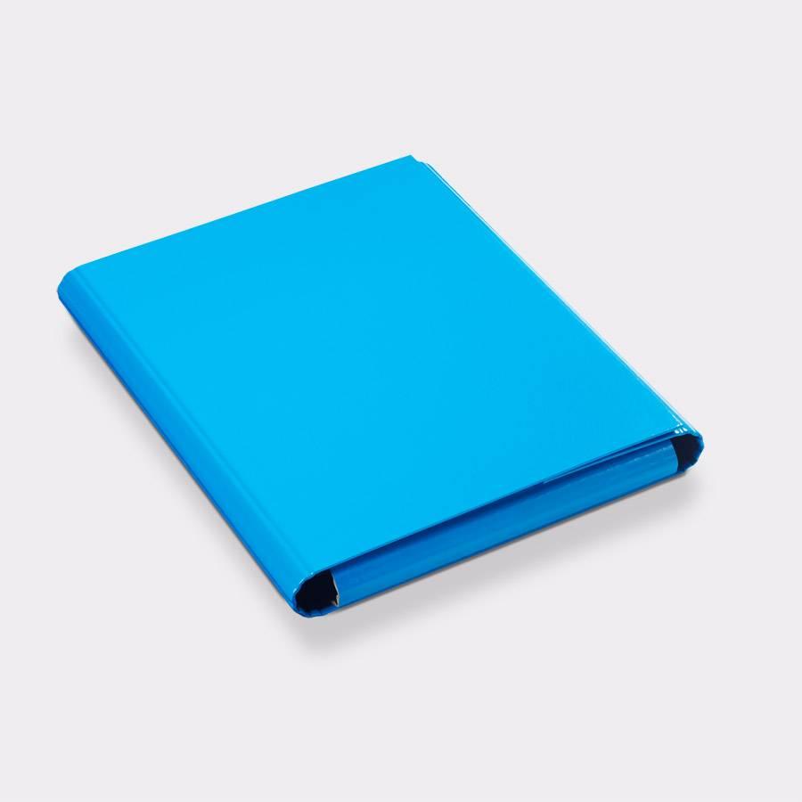 Presentatiemap blauw