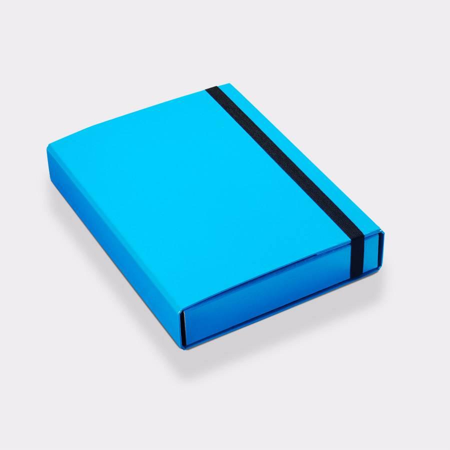 Opbergbox A4 50 mm blauw