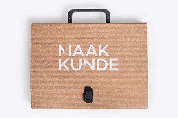 NEMO Science Museum Amsterdam: Klapr Kraft box with print