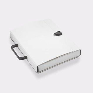 Klapr Koffer A4 30 mm wit