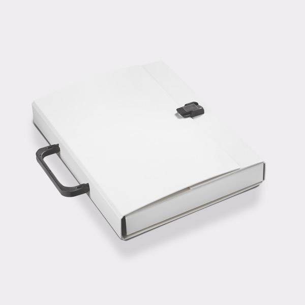 Briefcase A4 White