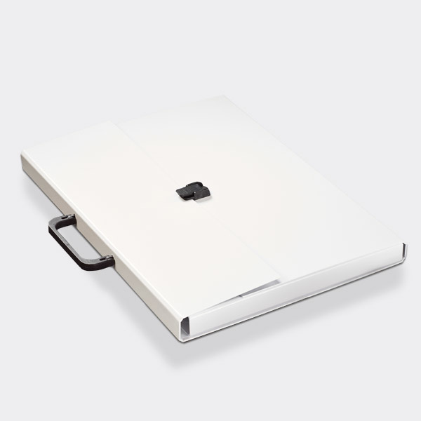 Briefcase A3 White - SALE