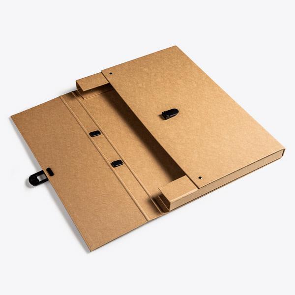 Koffer A3 Kraft