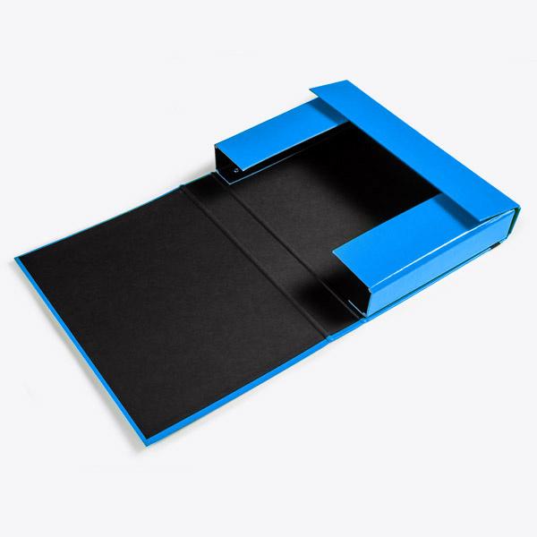 Storage box A4 50mm Blue