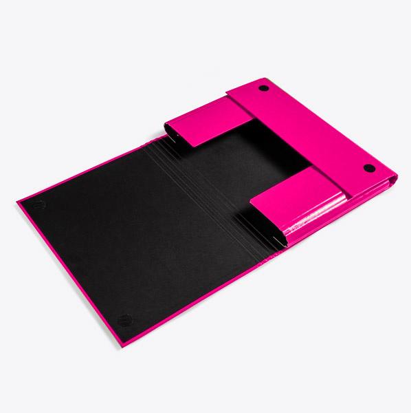 Luxury folder Magenta