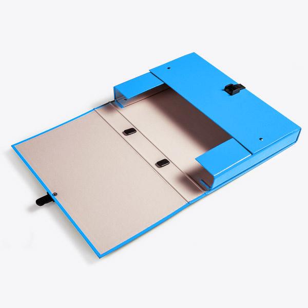 Koffer A4 Blauw