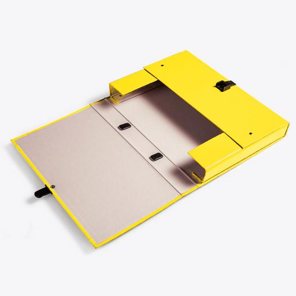 Briefcase A4 Yellow