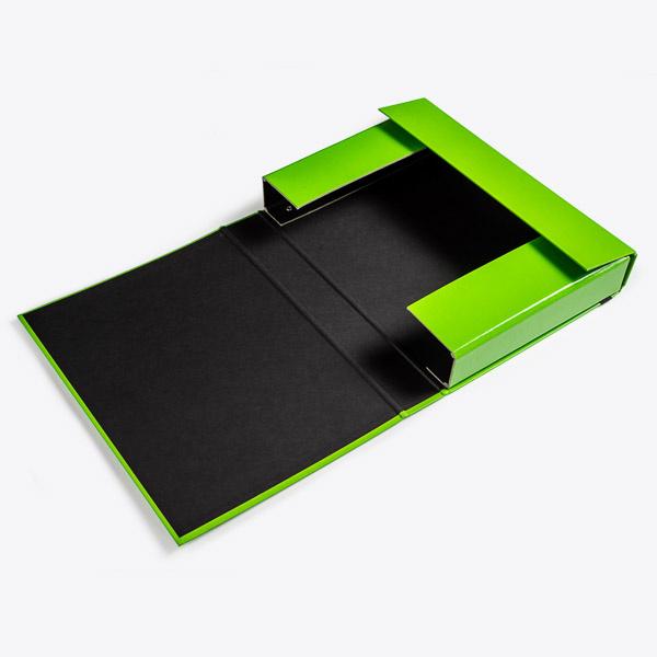 Opbergbox A4 50 mm groen