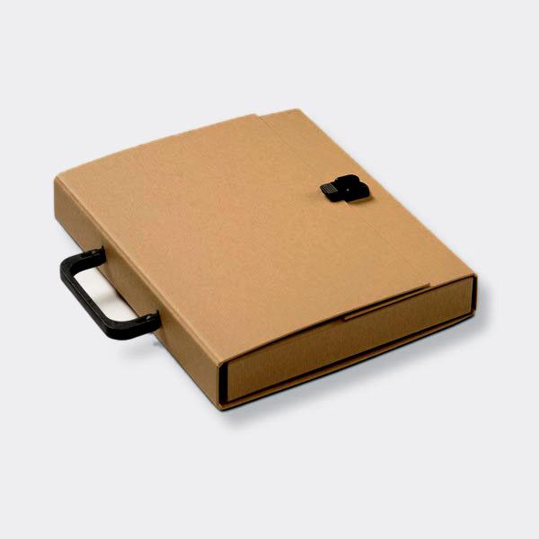 Briefcase A4 Kraft