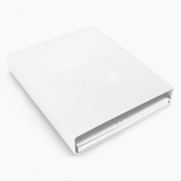 Deluxe ring binder white