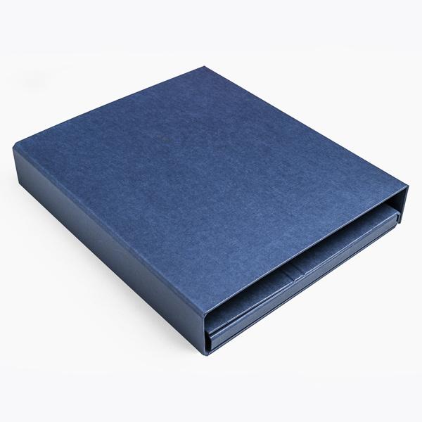 Combi ringband blauw