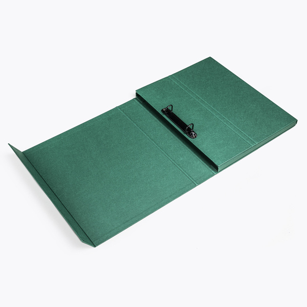 Deluxe ring binder green