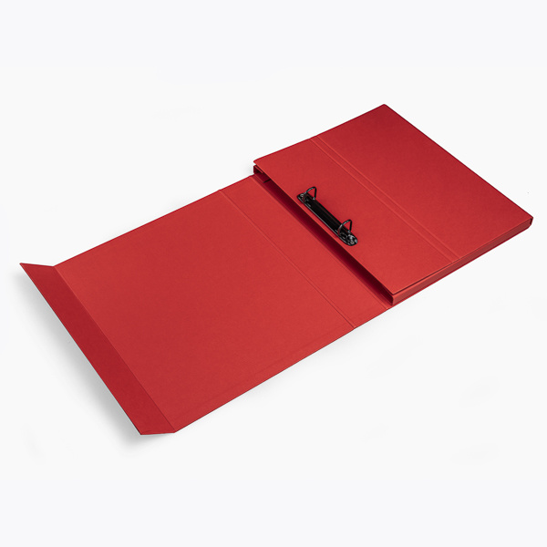 Deluxe ring binder red