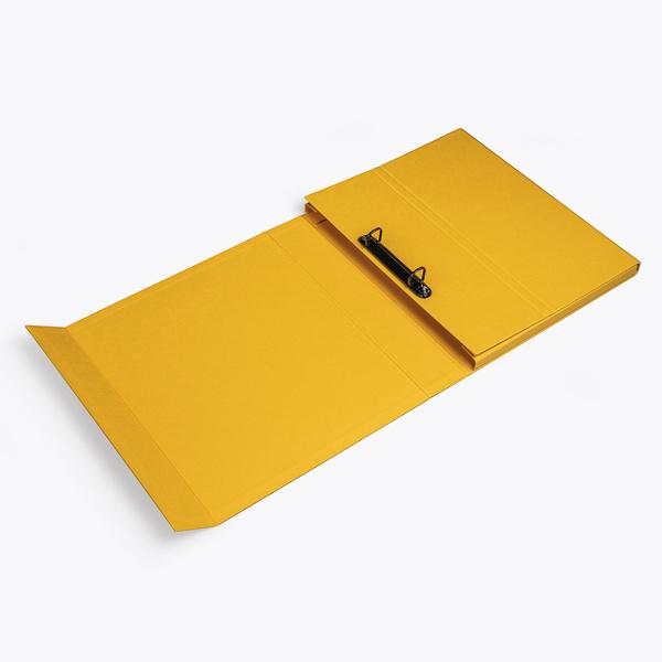 Deluxe ring binder yellow
