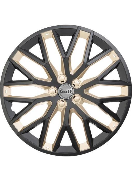 Set 4 stuks wieldoppen 13 inch GT40 Zwart / OR