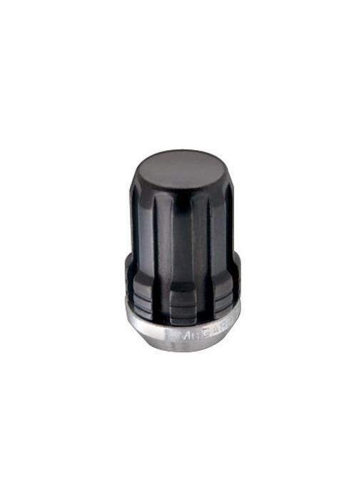 Spline Drive moeren 12x1,5 - 31.5 mm - K21 Zwart (4st)