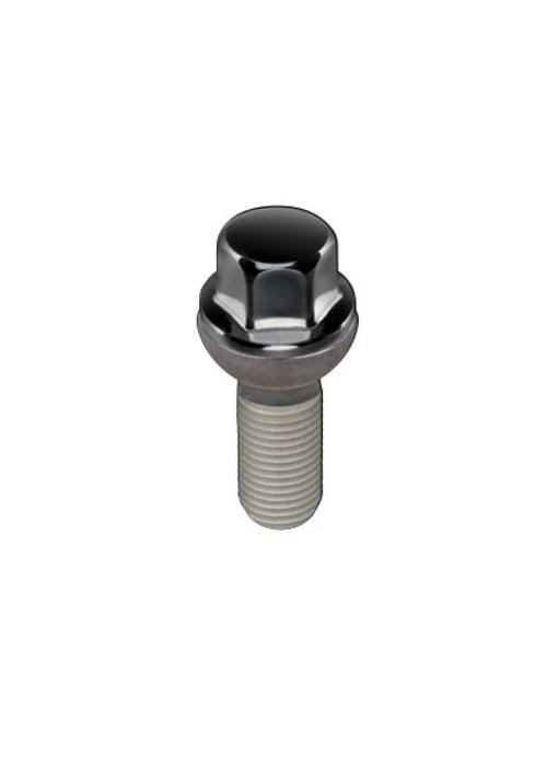 Wielbouten Bolconisch 14x1,5 - 26.9mm - K17 Zwart (50st)