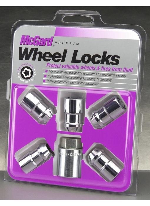 Slotmoeren Conisch 5-Lock Set 1/2x20 - 37 mm - K19