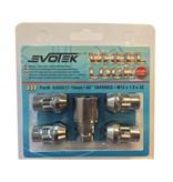 Evotek Slotmoeren Conisch 12x1,5 - 32 mm - kop 17