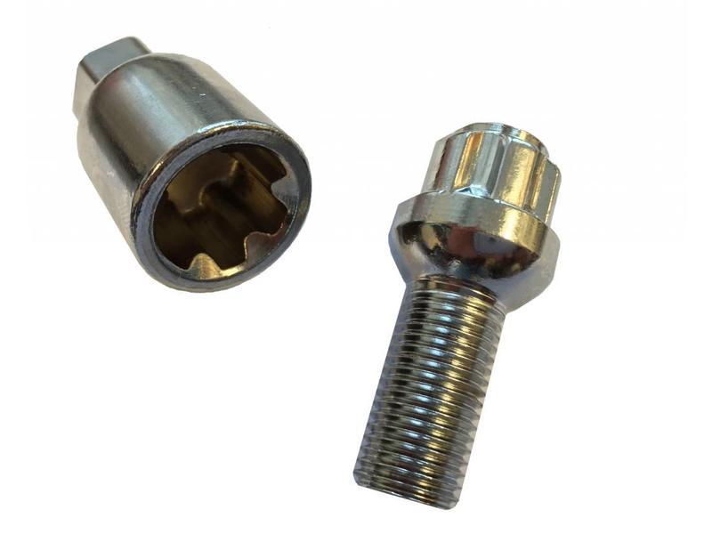 Evotek Slotbouten Bolconisch 14x1,5 - 27 mm - kop 17