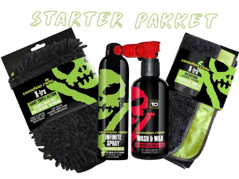 VoodooRide VooDoo Ride Starter Pakket (4 stuks)