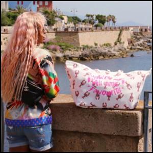 Amanda Rijff met lobster