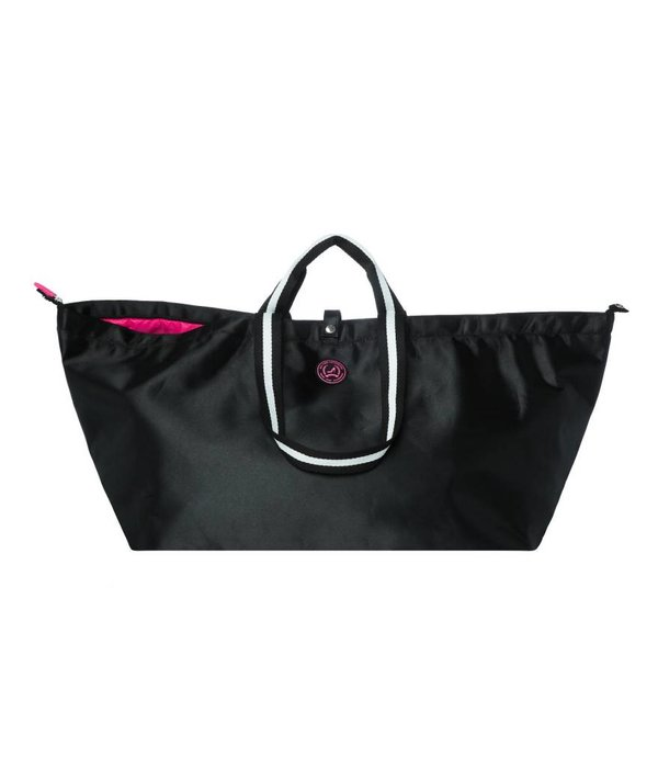 Big Shopper Shiny Nylon Black