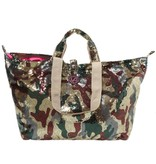 Kleine Shopper Pailletten Camouflage Shiny