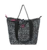 Shopper XS Tweed Zwart