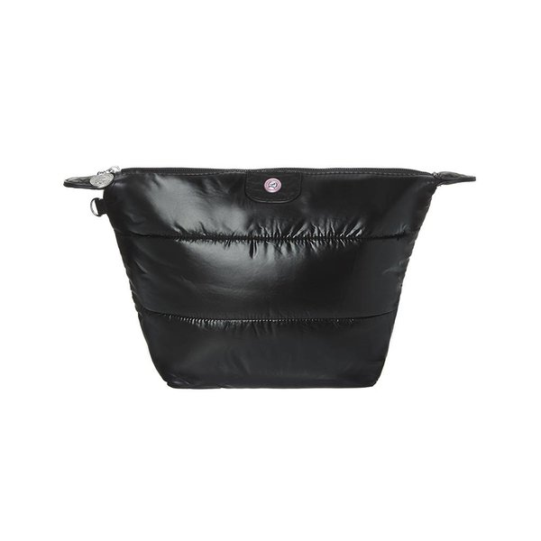 Cosmetics Bag Puffy Black