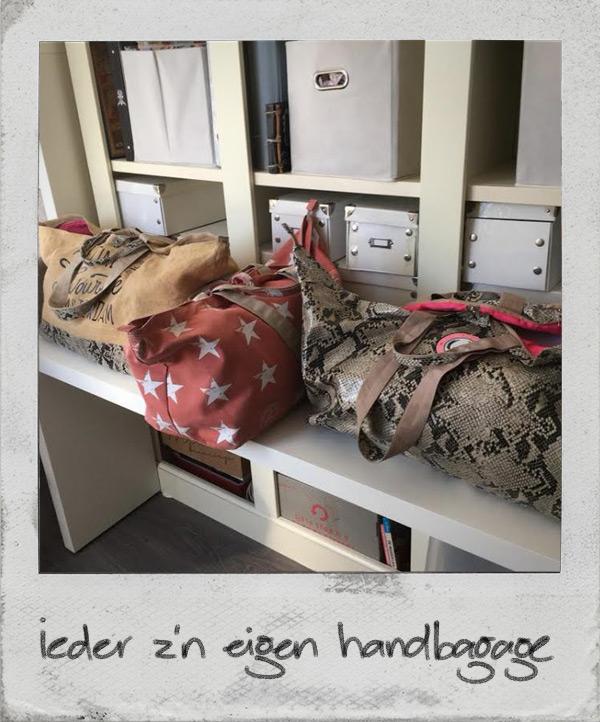 Ieder zijn eigen tas