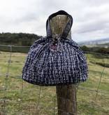 Small Shopper Tweed Blue