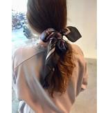 ATF sjaal Zwart/Paars