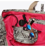 Make-up Bag Python Naturel