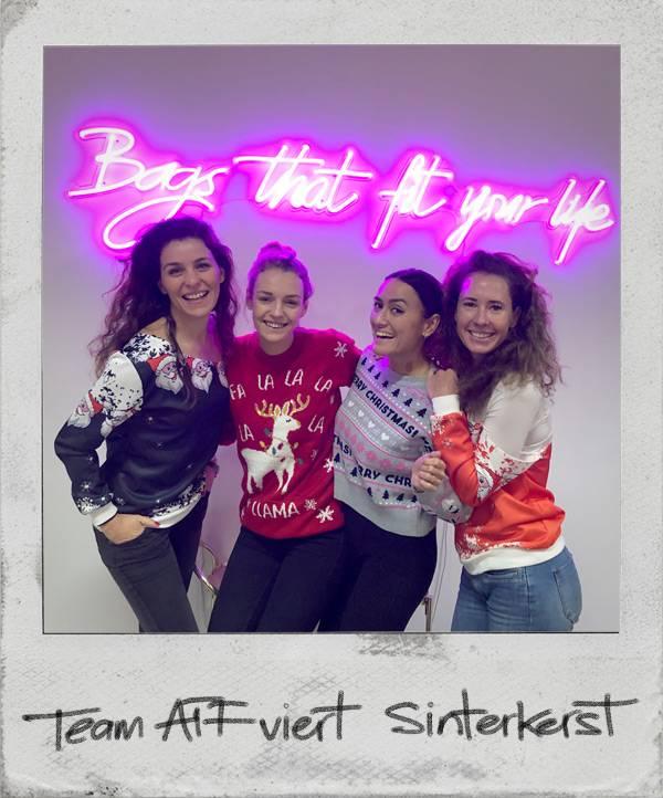 Team ATF viert Sinterkerst!