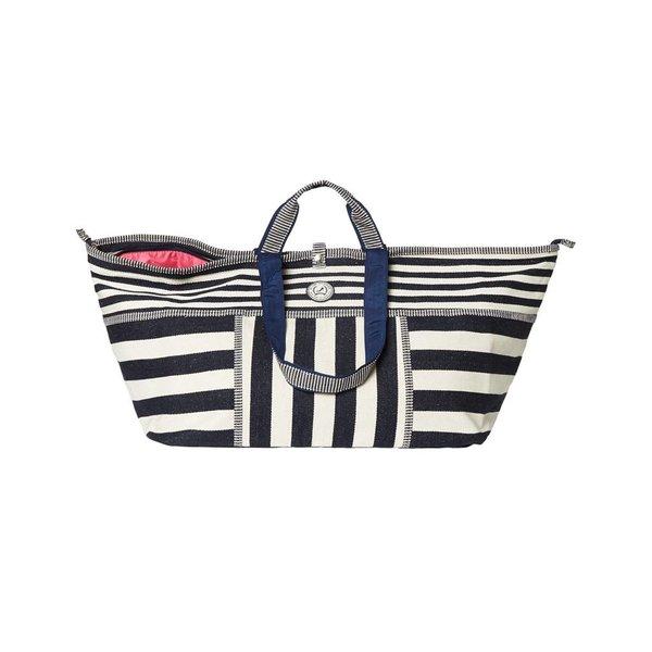 Big Shopper Stripes  Blue