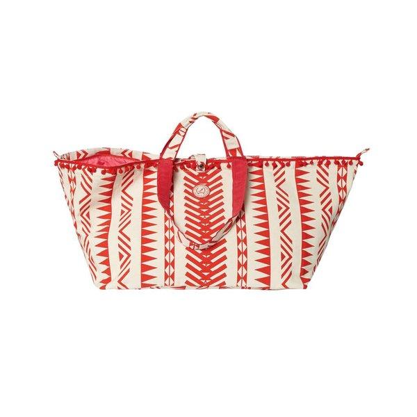 Big Shopper Desert Print Red