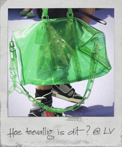 Louis Vuitton groen