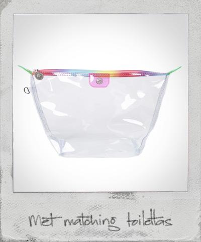 Toilettas transparant