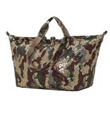 Kleine Shopper Pailletten Camouflage Shiny