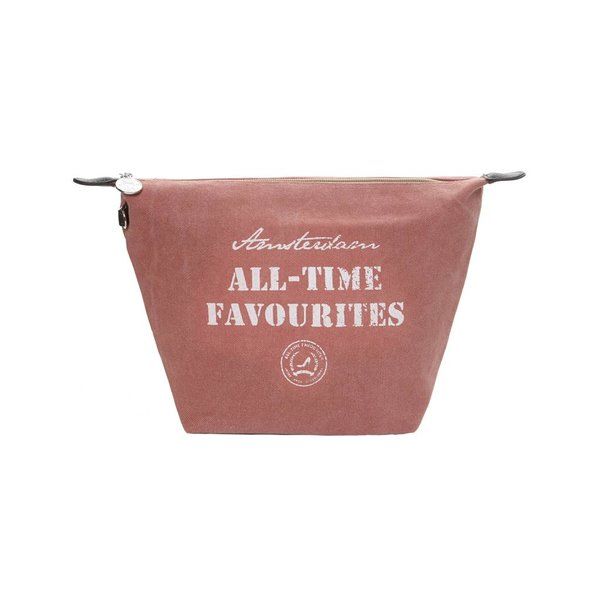 Cosmetics Bag Washed canvas Old Rose