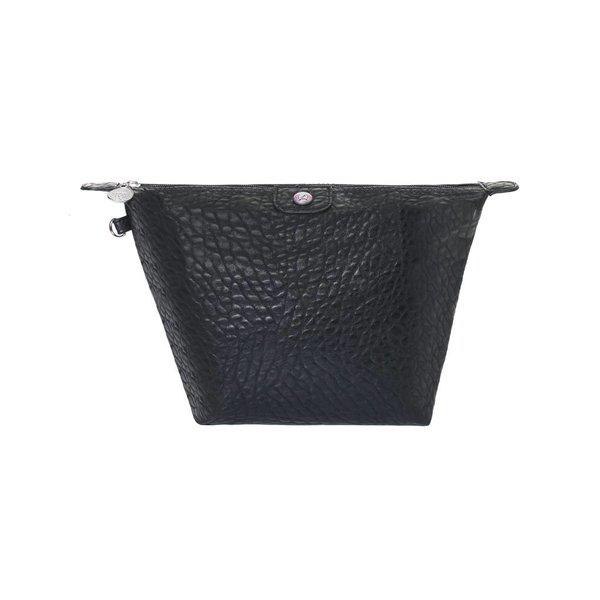 Toilettas Zwart Croco