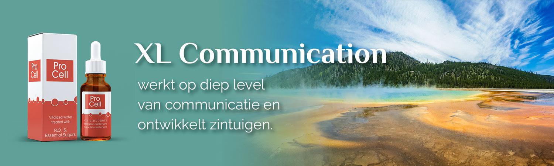 XL Communication, werkt op diep level van communicatie en ontwikkelt zintuigen.