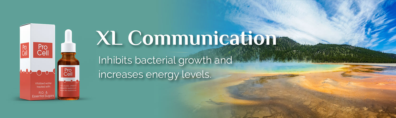XL Communication. Protects against stress and radiation and tackles intestinal problems.