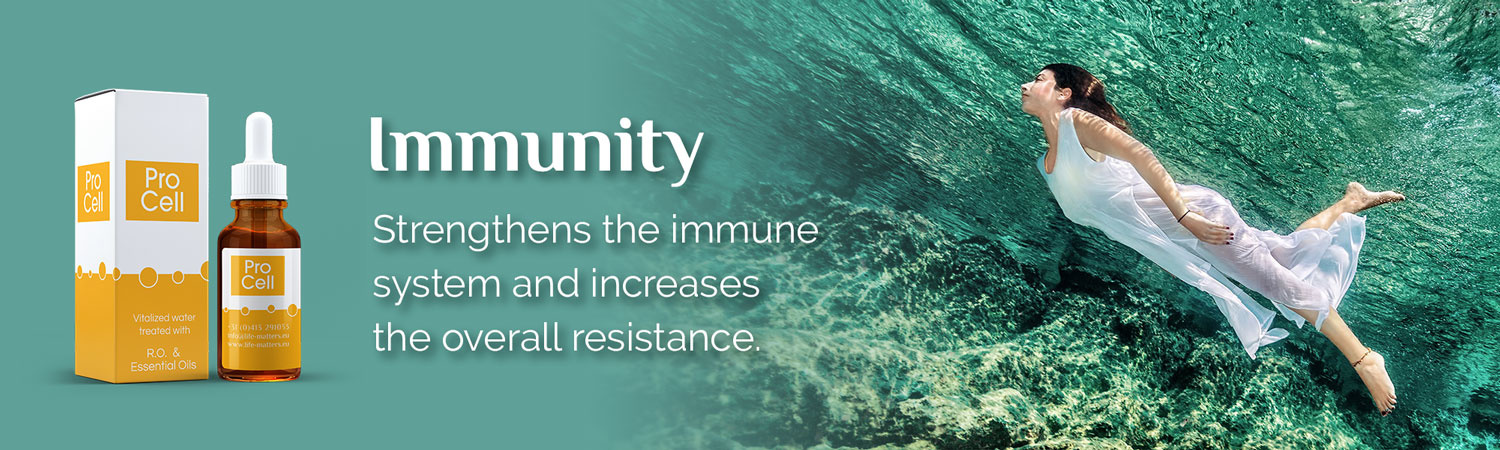 Immunity. Strengthens the immune  system and increases  the overall resistance.