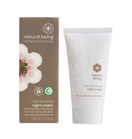Living Nature Manuka Honey Night Cream - Normal to Dry